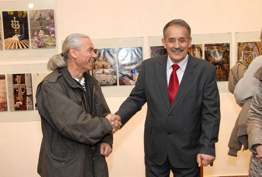 © Božidar Vitas, otvaranje izložbe svetlopisa Rajka Karišića