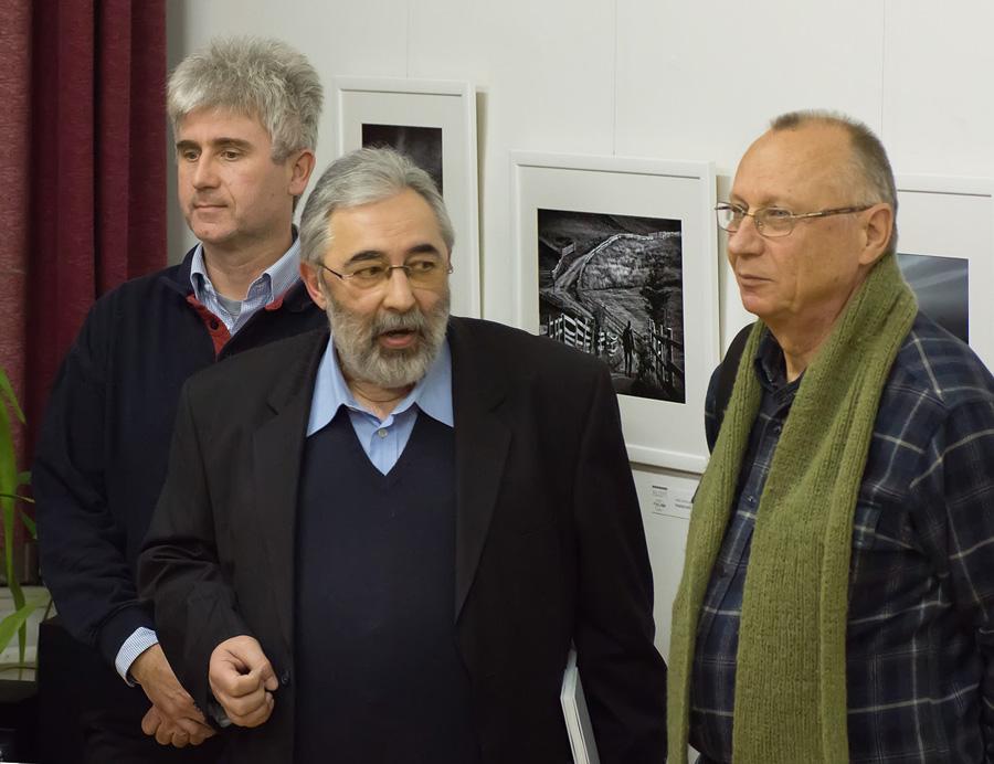István Virag u društvu sa predsednikom WAFP dr. Patruš Šandorom