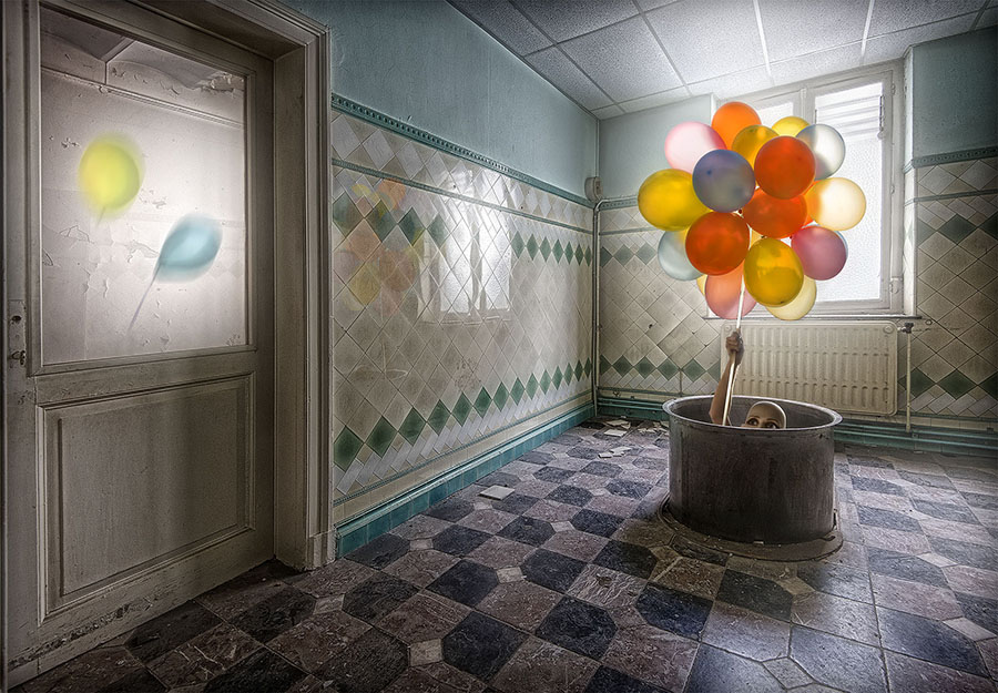 © Salon Mention, Experiment, Marcel van Balken, Netherlands, D1Balloons